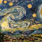 Van Gogh Color Changing Starry Night By Artist Blane Kivley-1