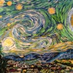 Van Gogh Color Changing Starry Night By Artist Blane Kivley-3