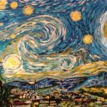 Van Gogh Color Changing Starry Night By Artist Blane Kivley-4