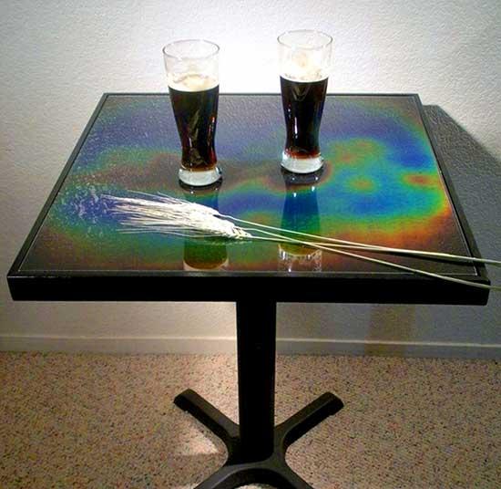Aurora Pub Table