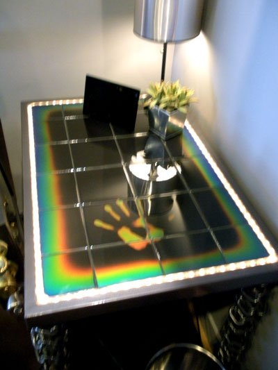 Moving Color Color Changing Tiles Featured on Extreme Makeover Home Edition