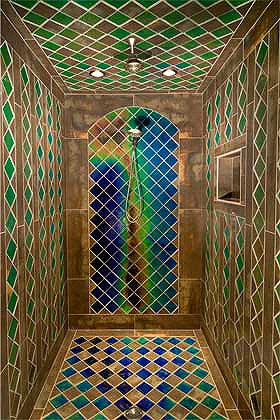 colour changing bathroom tiles geometrical color changing tile shower moving color 17819